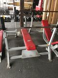 Streamline Decline Weight Lifting Benches w/Bars