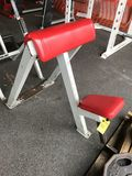 Streamline Seated Bicep Curl Bench