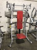Hammer Strength ISO Lateral Incline Press Machine