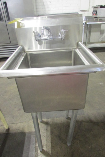 NSF Stainless Steel Sink w/Faucet