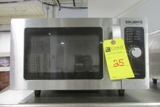 Solwave Commercial Microwave Oven