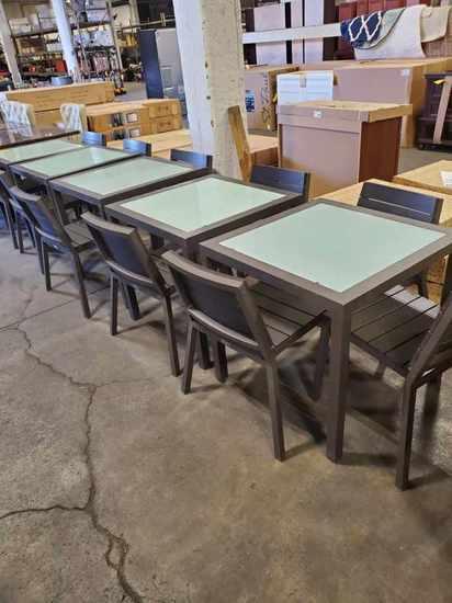 Aluminum Table & Chair Sets