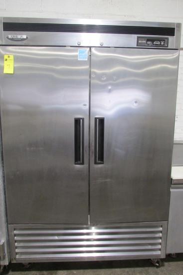 Maximum Double Door Commercial Freezer