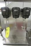 3-Head Commercial Milkshake Mixer
