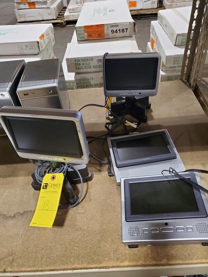 Portable DVD Players & LCD Monitors