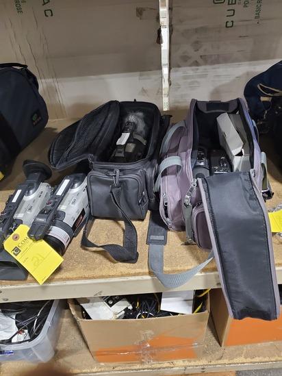 Canon 3CCD GL2 Camcorder & Panasonic AG-EZ1 Camcorder