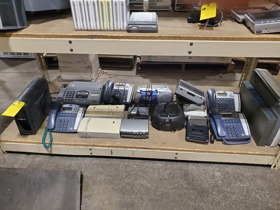 Battery Backup, Telephones, Radios, Etc.