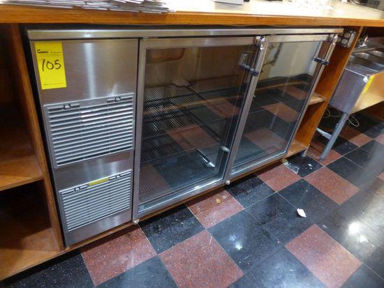 Glasstender Double Glass Door Cooler