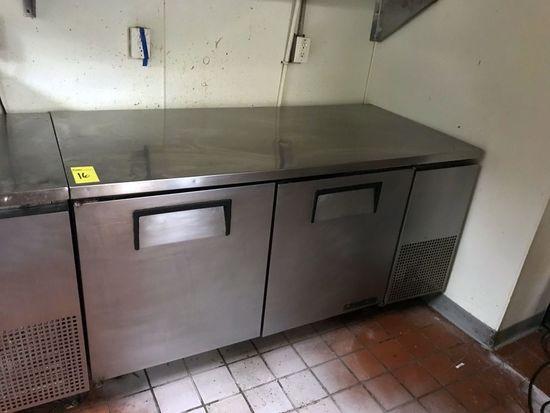 True Freezer Prep Table