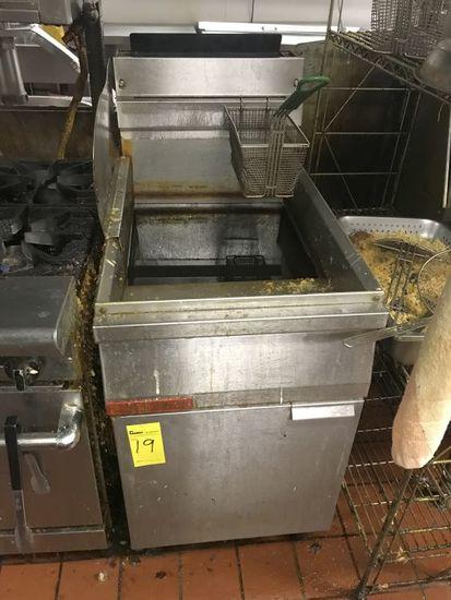 Cecilware 2-Bay Deep Fryer