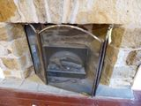 Electric Fireplace w/Gates