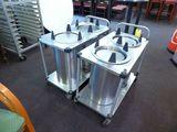 Servolift Dish Dispenser Carts