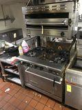 American Range 6-Burner Stove/Oven