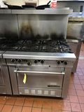Garland 6-Burner Gas Stove/Oven