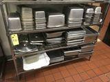 Stainless Steel Steam Table Pan & Lids, Etc.