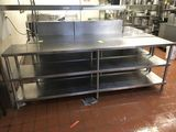 Stainless Steel Shelf Units