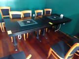 Wood Top Tables w/Electric Insert, Etc.
