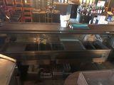 Bar Sink, 3-Bay & Speed Rack, 8'