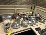 Antique Kitchenware, Lamps, Etc.