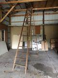 Wood Ladder, 12'
