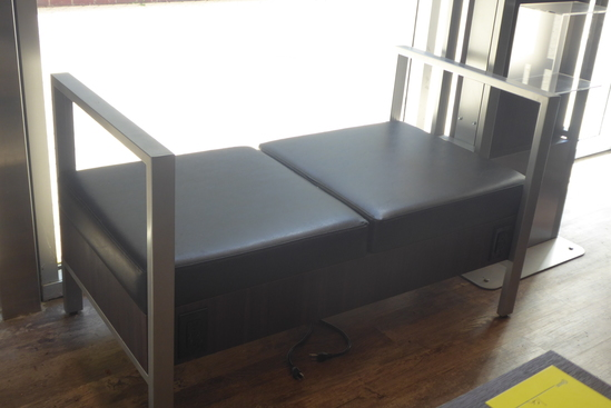 Metal Framed Benches