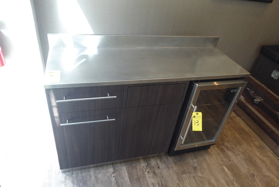 Cabinet w/Stainless Steel Top