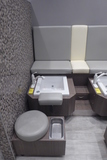 Pedicure Station w/Sanijet Foot Spa & Stool