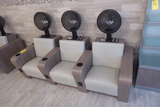 3-Seat Hair Drying Station w/Highland Liberty Hair Dryers