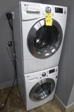 LG Stacked Washer & Dryer Unit