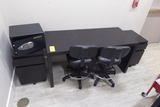 Desk , Chairs, Cabinets, Safe, Etc.