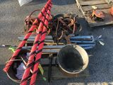 Pulley's, Ice Tongs, Work Area Signs, Etc.