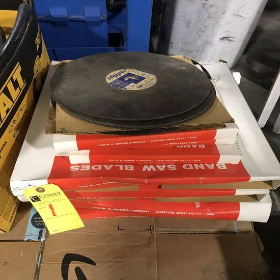 Band Saw Blades, Cut-Off Wheels, Asst.