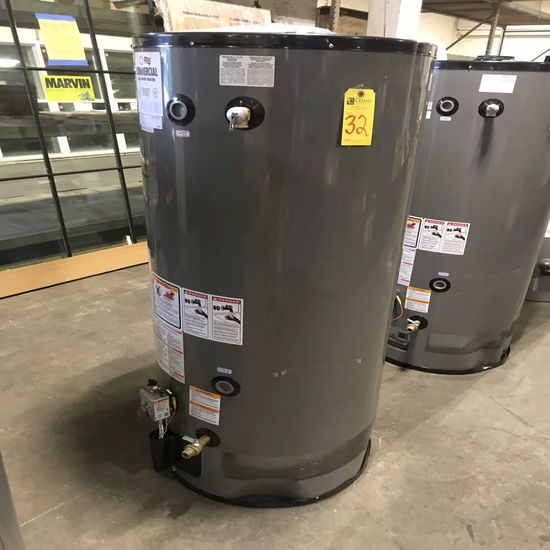 Rheem 75-Gal Commercial Gas Water Heater