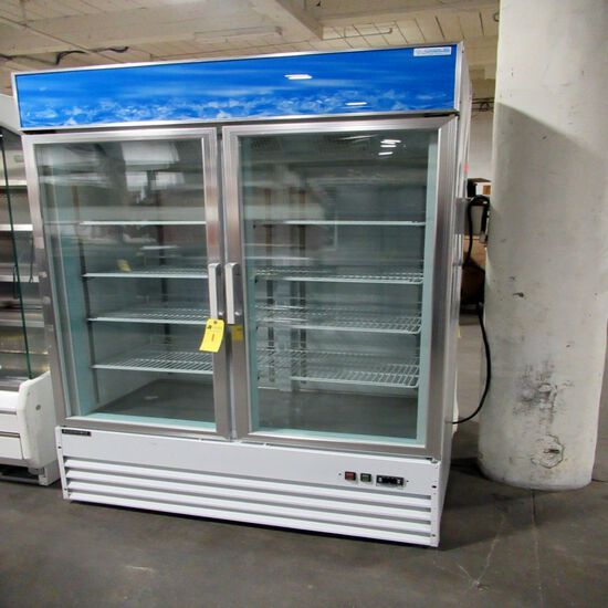 Economy Glass Door Freezer