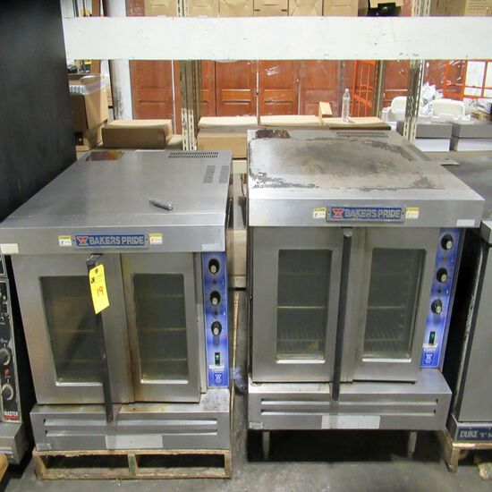 Bakers Pride Gas Double Convection Oven
