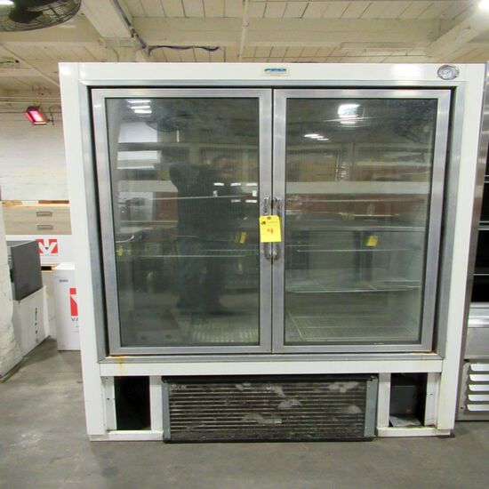 GEM Refrigerator Co. Glass Door Freezer