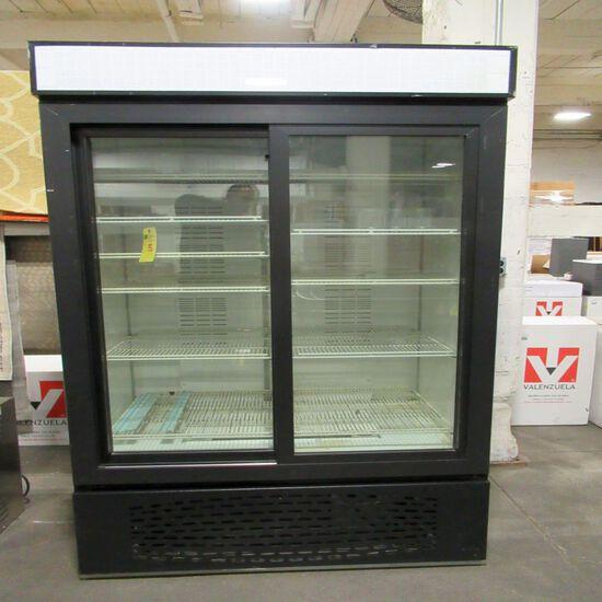 Carrier Glass Door Refrigerator/Freezer
