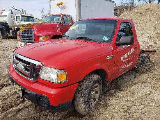 2008 Ford Ranger Utility Pickup Truck