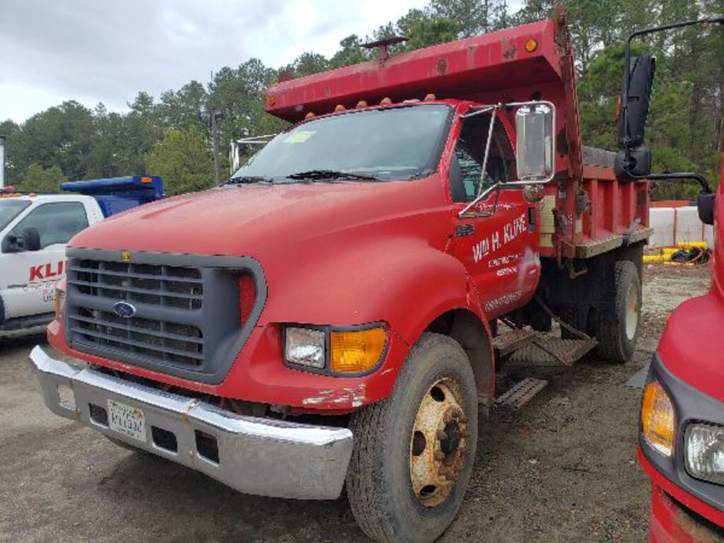 2003 Ford F650 Super Duty Dump Truck Commercial Trucks Hauling Transport Trucks Dump Trucks Auctions Online Proxibid