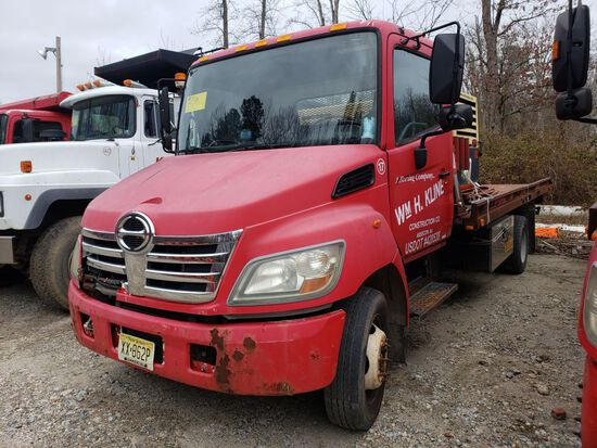 2006 Hino Single Axle Rollback Truck, Automatic Transmission, Diesel, 18' S