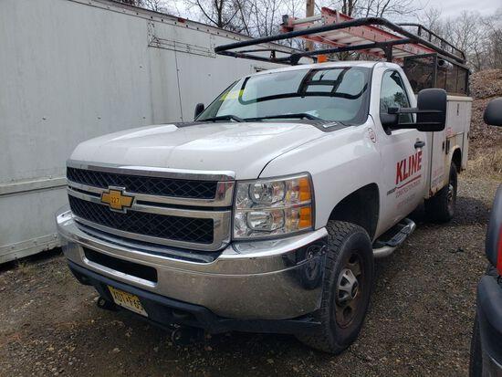 2012 Chevrolet 2500 Single Axle Utility Truck