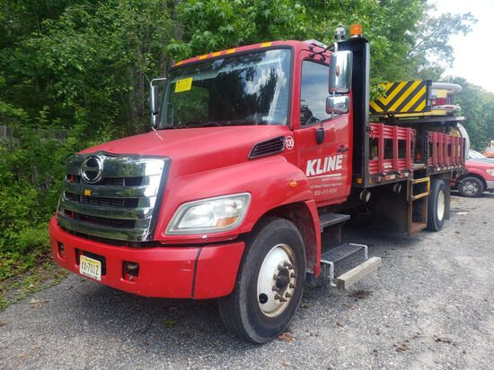 2011 Hino 268 Single Axle Attenuator Truck