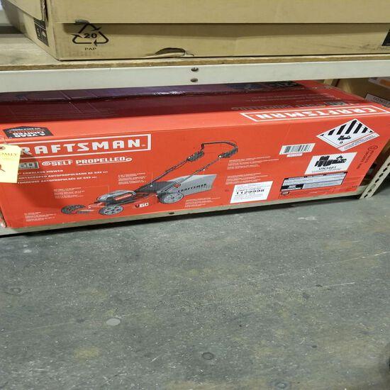 "Craftsman 21"" Self Propelled Cordless Mower, 60V Lithium Ion"