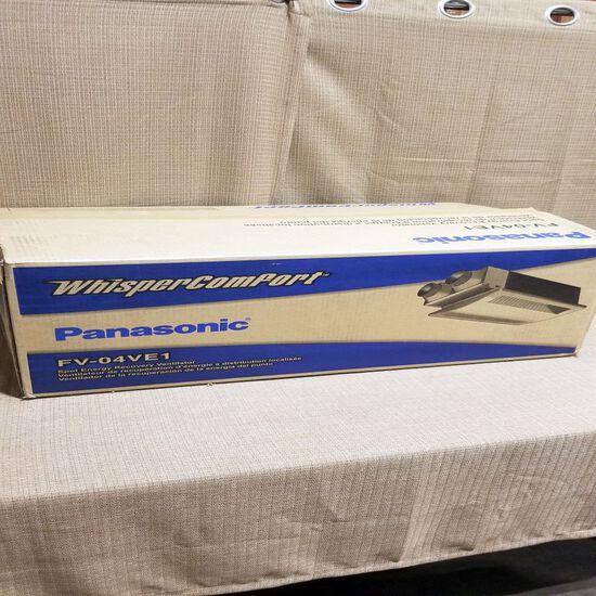 Panasonic Spot Energy Recovery Ventilator, m/n FV-04VE1