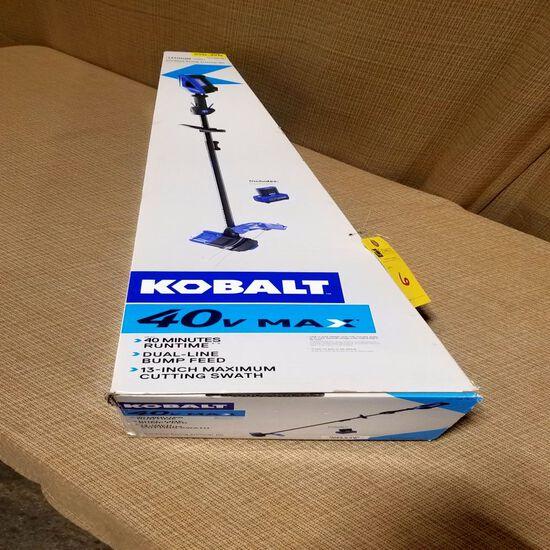 Kobalt 40 Volt Cordless String Trimmer Kit (Lithium)