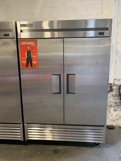 True Double Door S.S. Refrigerator