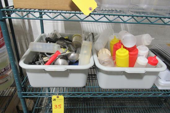 Bowls, Utensils, Salt & Pepper Shakers, Etc., Asst.  (Lot)
