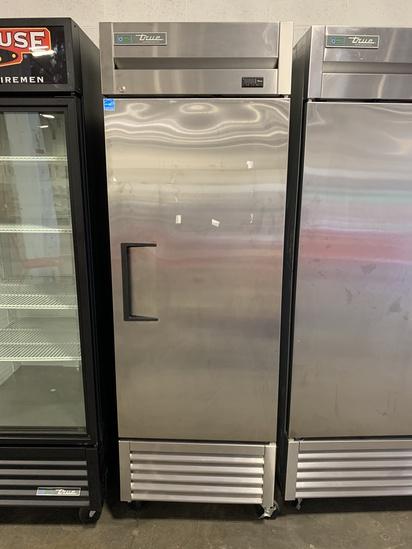 True Single Door S.S. Refrigerator