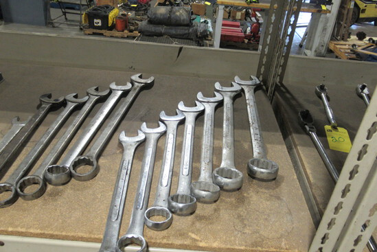 "Pittsburgh 7 Pc. Combination Wrench Set, 1 3/8""-2"""