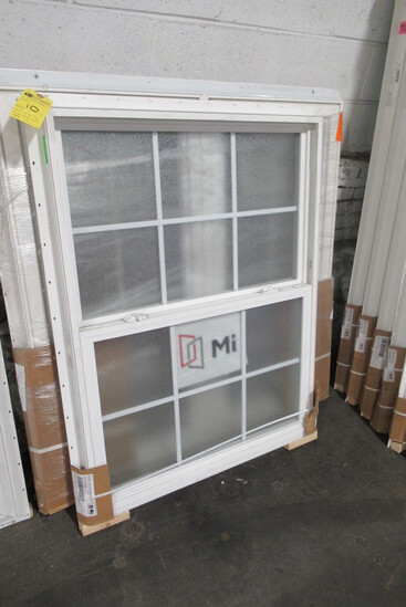 "D/H Window, 35 3/4"" x 47 1/2""  (Frosted Glass)"